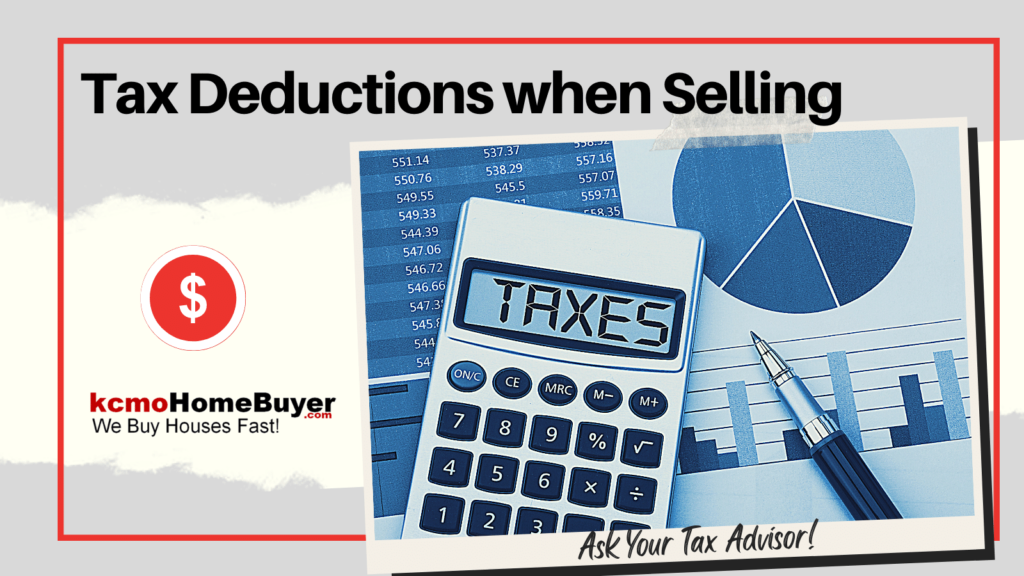 Tax Deductions for Homeowners Selling their Homes