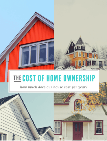 The cost of homeownership can help you determine if it's worth the trouble.