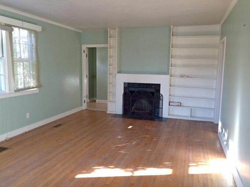 A house sitting vacant in Knoxville, TN.