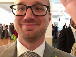 Picture of Dan from Barrett Home Buyers at wedding
