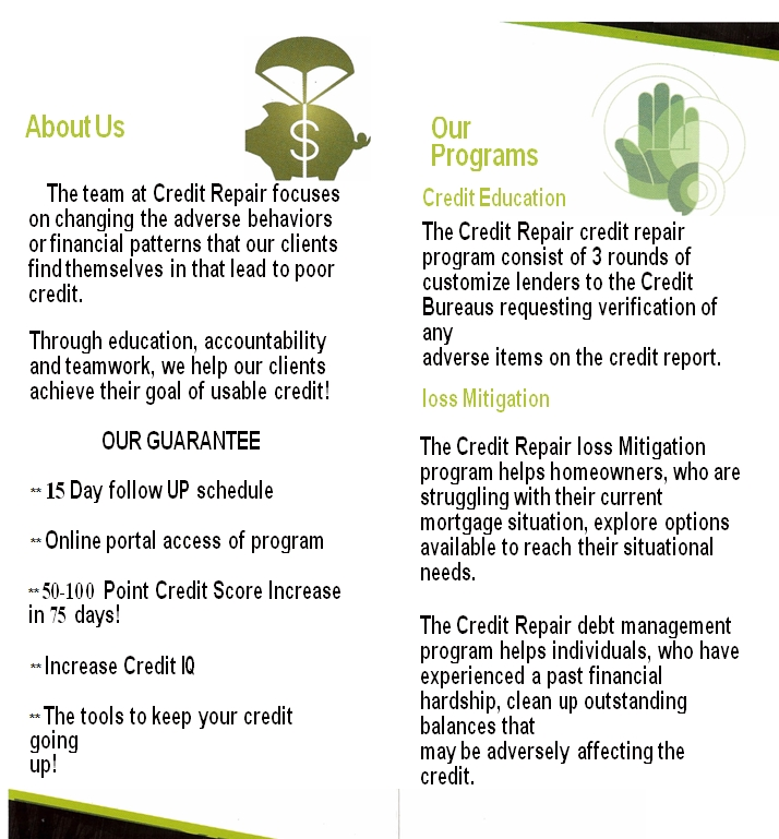 the hook up credit repair