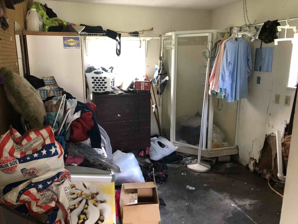 the utility room of a house we bought in marion county florida