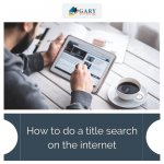 How to do a title search online