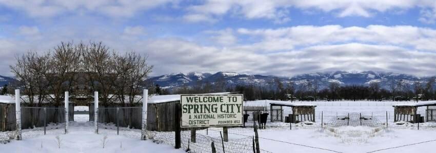 top small Utah cities - Spring City