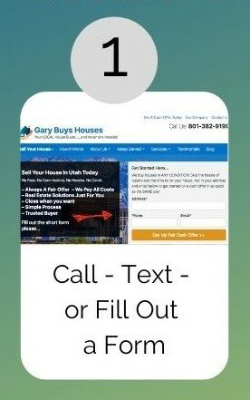 step 1 sell a house during the holidays form to fill out