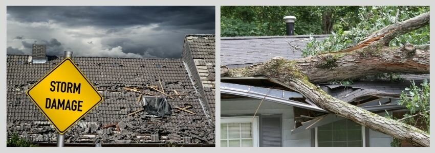 common causes of roof damage