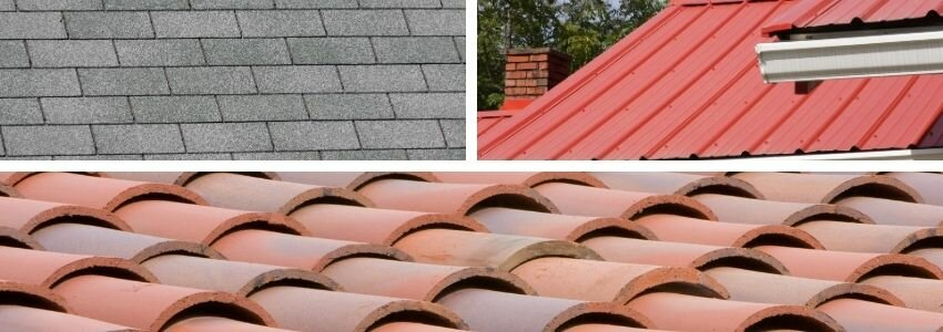 types of roofs, selling a house with a damaged roof