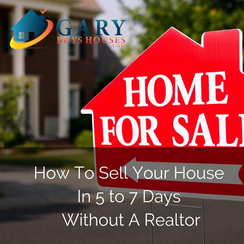 Sell A House No Realtor sign