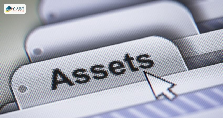 """a computer screen showing the mouse icon hovering over a folder titled """"assets"""""""