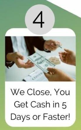closing man getting cash