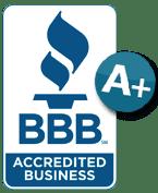 Better Business Bureau logo A+ rating