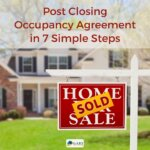 Post Closing Occupancy Agreement in 7 Simple Steps