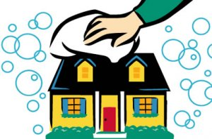cleaning-house-to-sell-fast