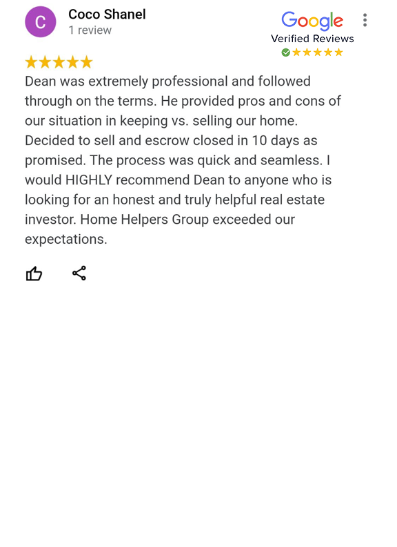 Google Review - Coco Shanel