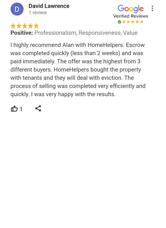 Google Review - David Lawrence