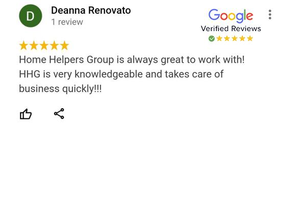Google Review - Deanna Renovato