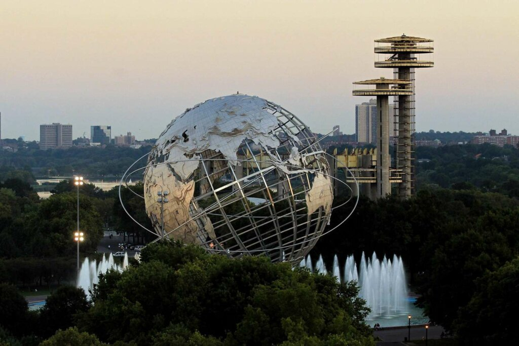 We Buy Houses in Queens NY Unisphere in Flushing Meadows Park