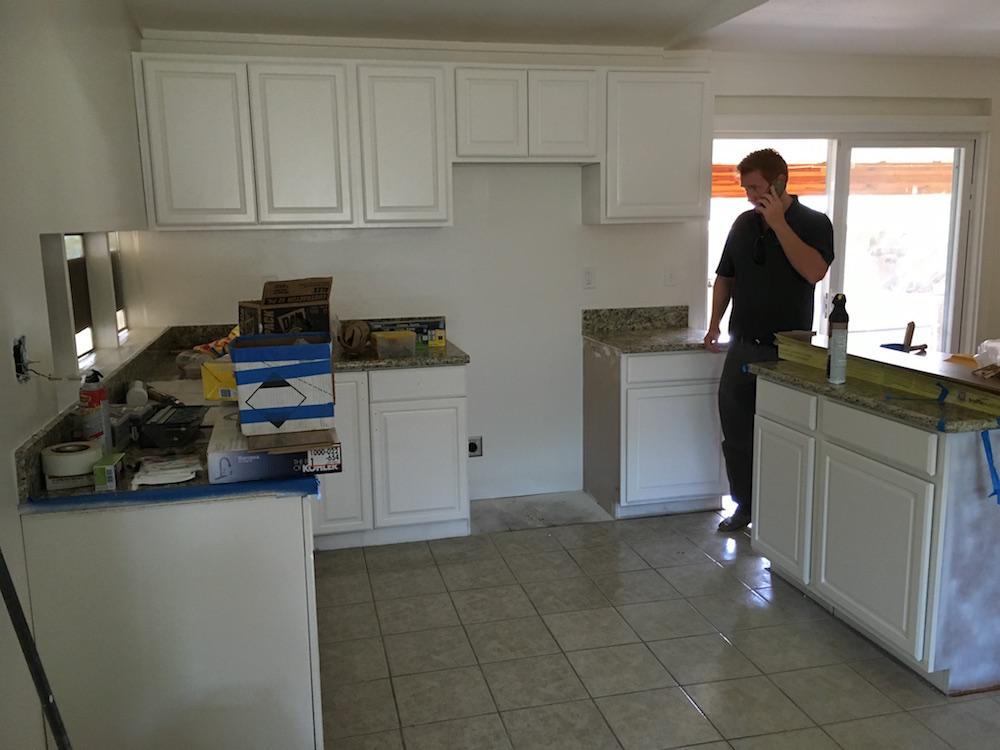 Sean Inspects the Hanakahi Ewa Beach Kitchen