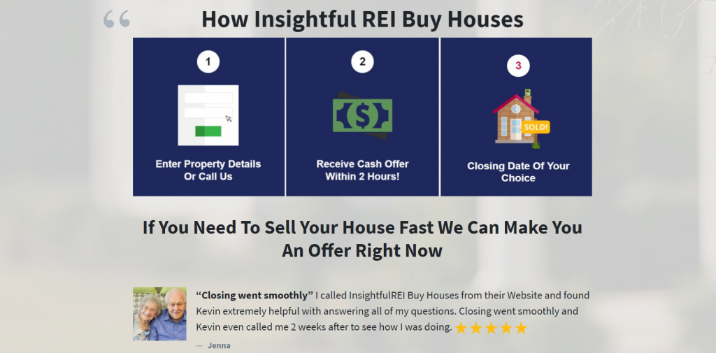 Sell my house fast