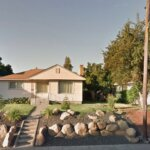 Neigborhood houses with large front yard