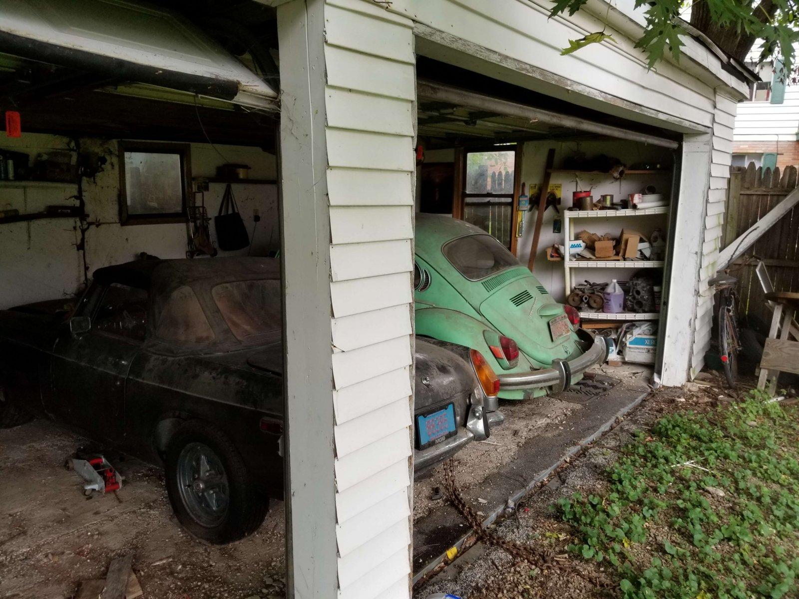 Mayer Ave Madison Back Garage Before Rehab
