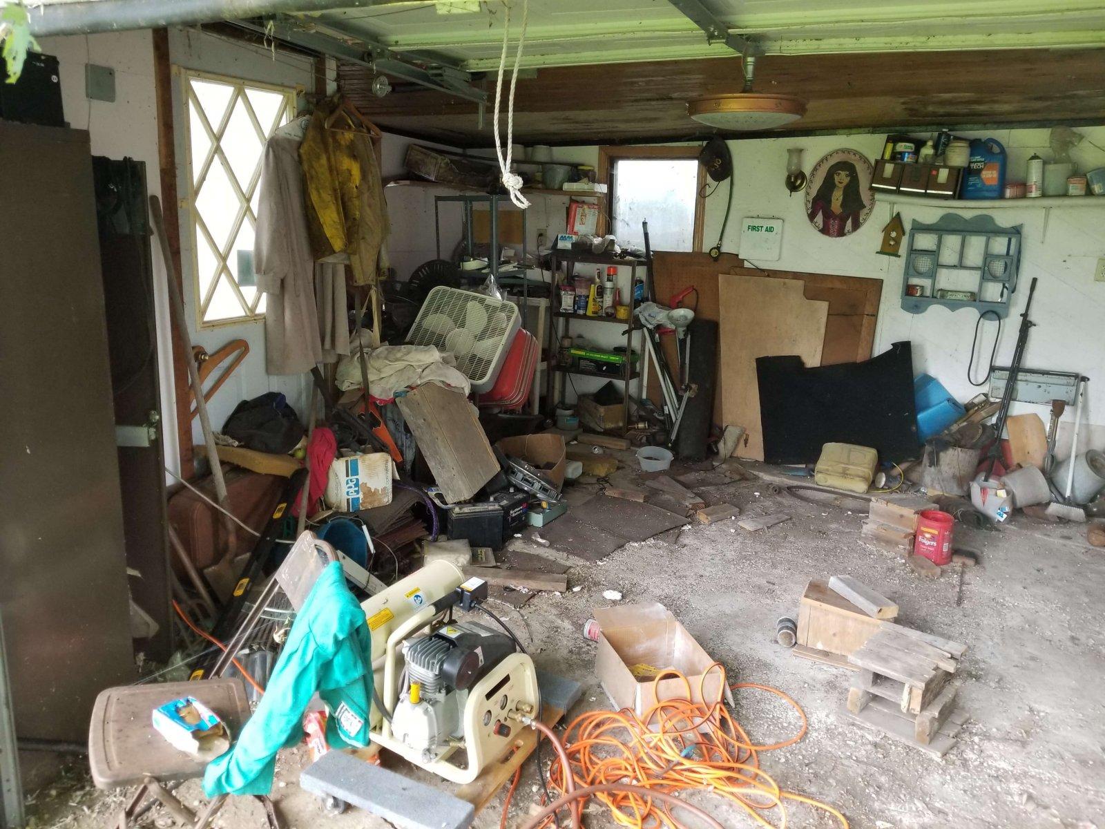 Mayer Ave Madison Garage Before Rehab