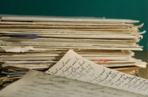 Get rid of paperwork when downsizing your New Jersey houses