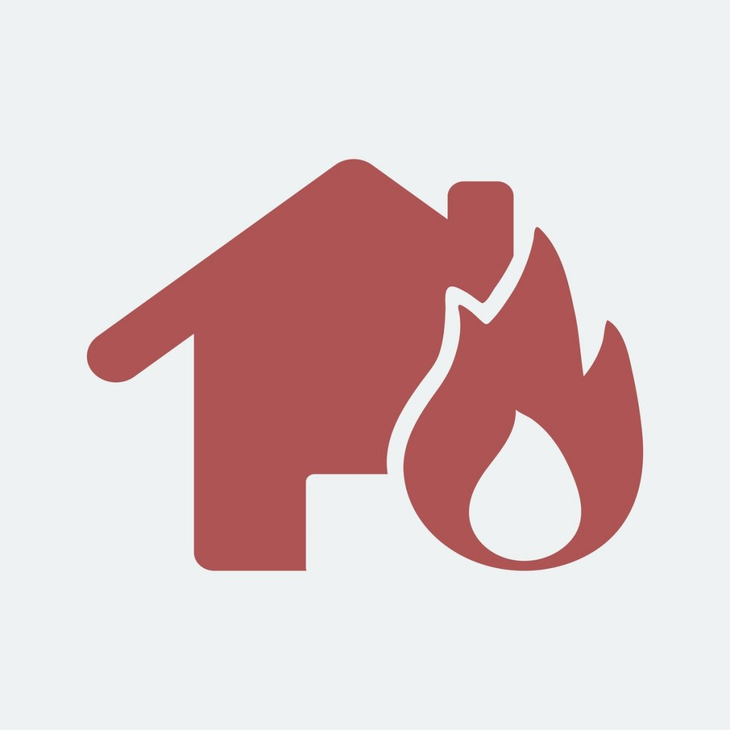 fire damage house