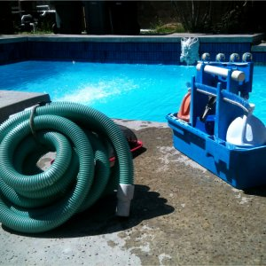 Property in Florida pool maintenance