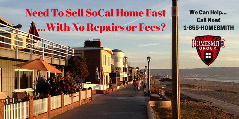 Selling Your House For Cash In Southern CA