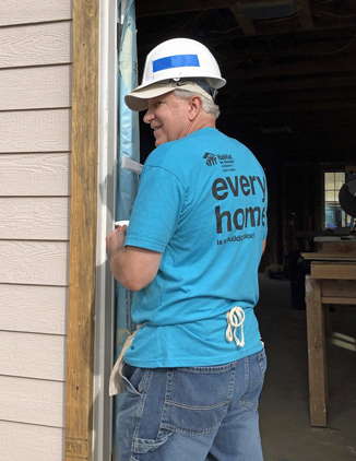 Homesmith Group Buys Houses - Supports Habitat For Humanity
