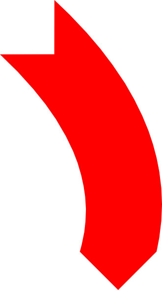 big red down arrow LR