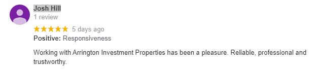 AIP house Buyers Google Review