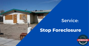 Service: Stop Foreclosure