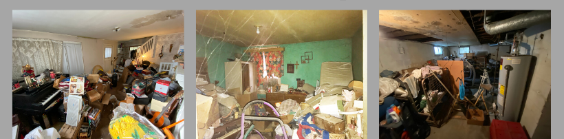 Selling Hoarder House
