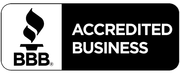 BBB Accredited Business Horizontal BLACK