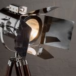 Light fixture for film acting classes in Davis County Utah