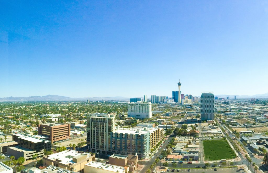 A photo of the Las Vegas skyline, on our Sell Your House Fast in Las Vegas page