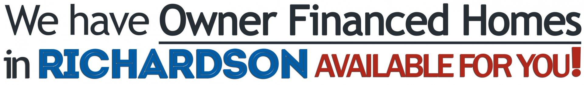 Owner Financed Homes in Richardson - Owner Finance Dallas