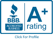 Logo for BBB A+ Rated Accredited Business