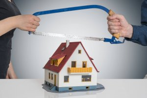 what happens to a house in a divorce Colorado Springs