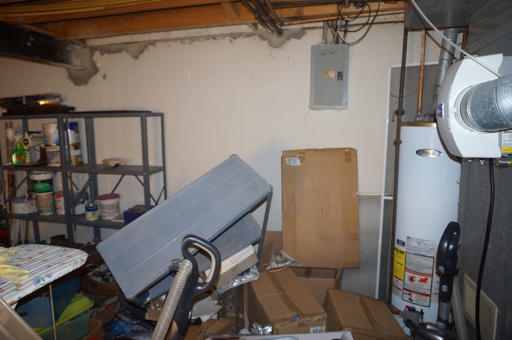 basement of detroit house needs repairs