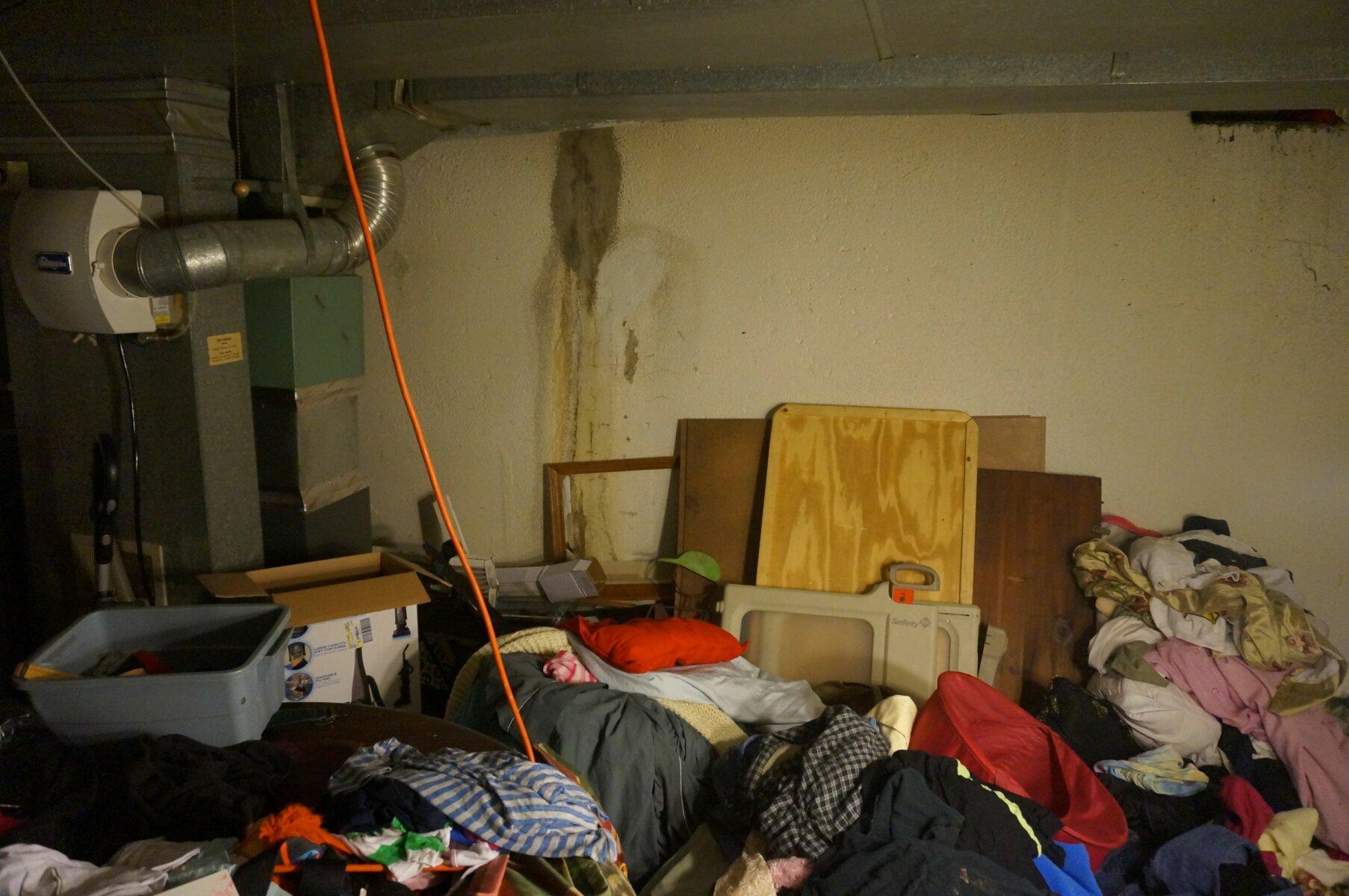 Detroit inherited house full of items in basement