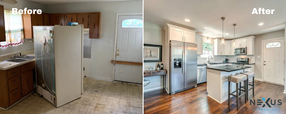 Before And After Remodel Nexus Homebuyers