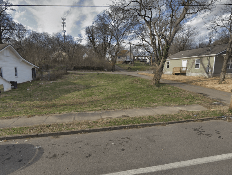 land bought for cash in Knoxville