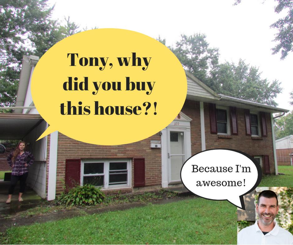 The Adventures of Tony Buying Houses | Ohio Cash Buyers LLC