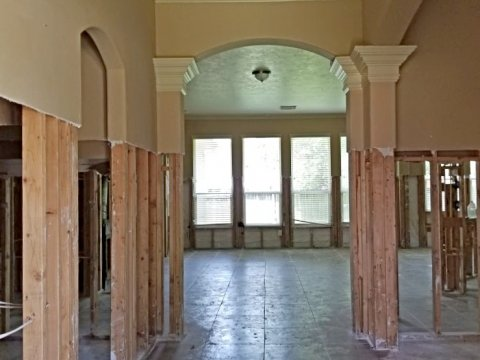 Homes For Sale In TX Houston 77090 – Elk River 4BR Hallway
