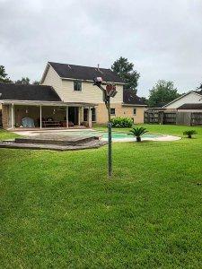 Homes For Sale In TX Friendswood 77546 – Killarney 3BR Backyard 2