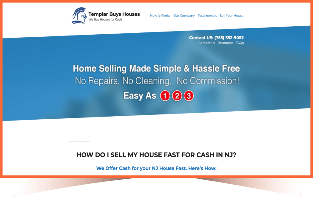 Sell my house fast in NJ step 1