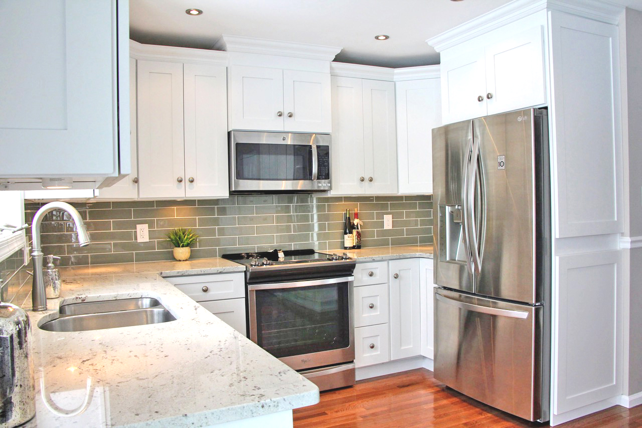 White Kitchen Remodel in Lehigh Valley, PA